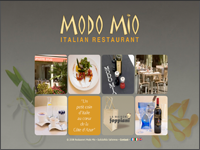 Site réalisé pour Modo Mio